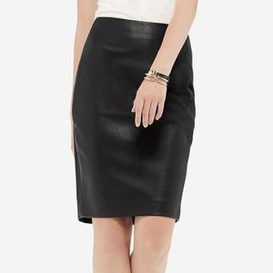 NWT Faux Leather Skirt